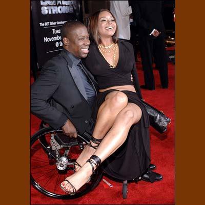 Daryl Mitchell with Wife Carol Mitchell