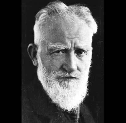 Who was George Bernard Shaw?
