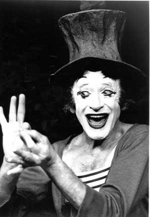 the life and work of marcel marceau Marcel learned to mime to survive and save the lives of jewish orphans whose   order of merit in france for his work in the french resistance.