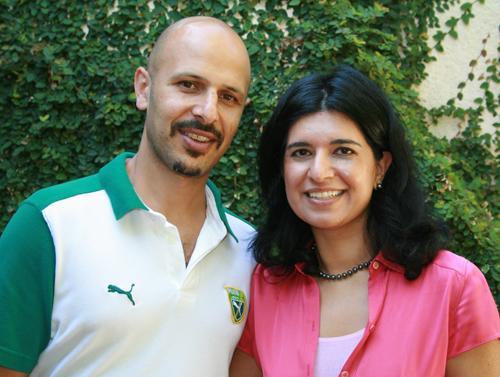 Maz Jobrani with intelligent, Wife Preetha Jobrani