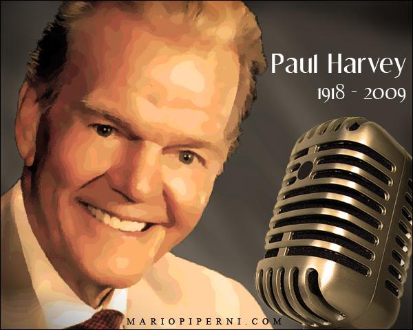 paul harvey christmas essay
