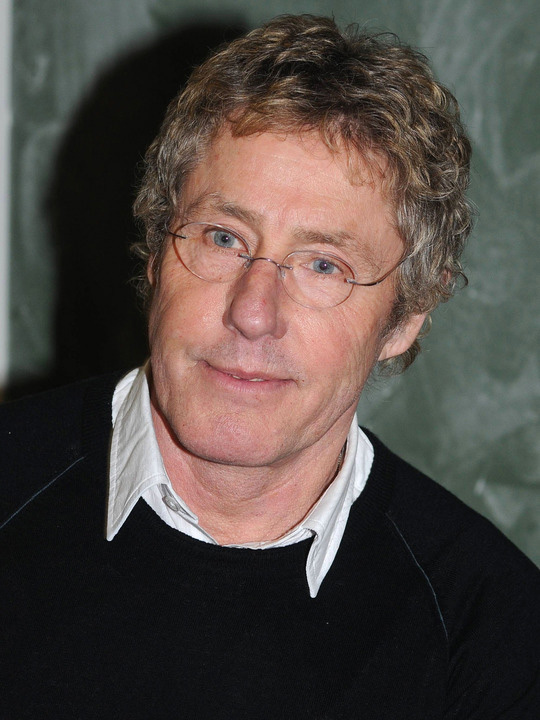 Celebrities lists. image: Roger Daltrey; Celebs Lists