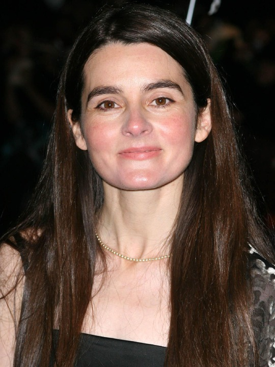 Shirley Henderson - 2017 Regular Brown hair & chic hair style. Current length:  long hair (bra strap length)